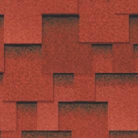 Черепица гибкая RoofShield КЛАССИК Модерн красный с оттенением