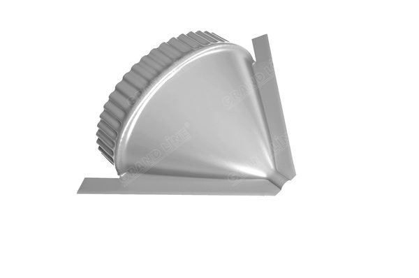 Заглушка конусная PE RAL 9003